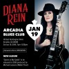 Guitarist Diana Rein Rocks The Blues At Arcadia Blues Club