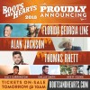 Florida Georgia Line, Alan Jackson, Thomas Rhett and Many More Confirmed for Seventh Year of Boots and Hearts