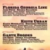 GARTH BROOKS, KEITH URBAN and FLORIDA GEORGIA LINE SET TO HEADLINE 12TH ANNUAL STAGECOACH: CALIFORNIA'S COUNTRY MUSIC FESTIVAL